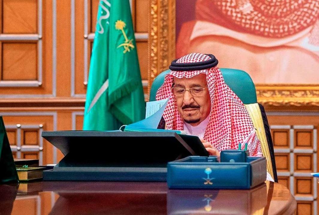 Salman bin Abdelasis al-Saud, König vo...-Pandemie bis auf Weiteres verlängert.  | Foto: - (dpa)