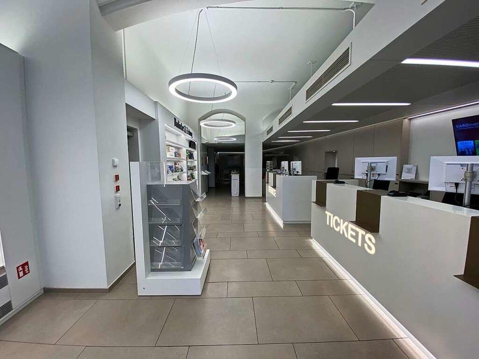 Die leere Geschäftsstelle im BZ-Haus in der Innenstadt.  | Foto: Fabian H.