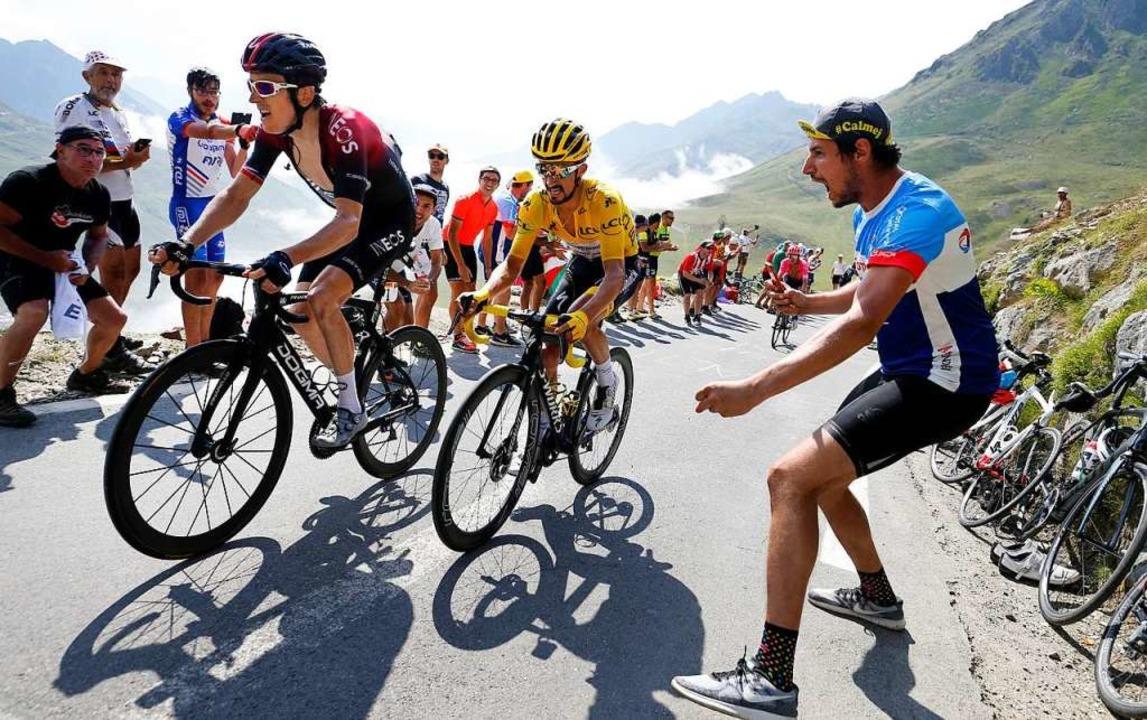 Die Tour in den Bergen – 2020 wohl so spät die nie.    Foto: Yuzuru Sunada (dpa)