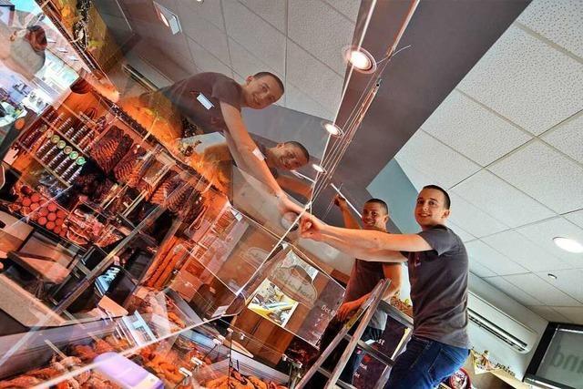 Denzlinger Messebauer baut jetzt Schutzscheiben für Supermärkte