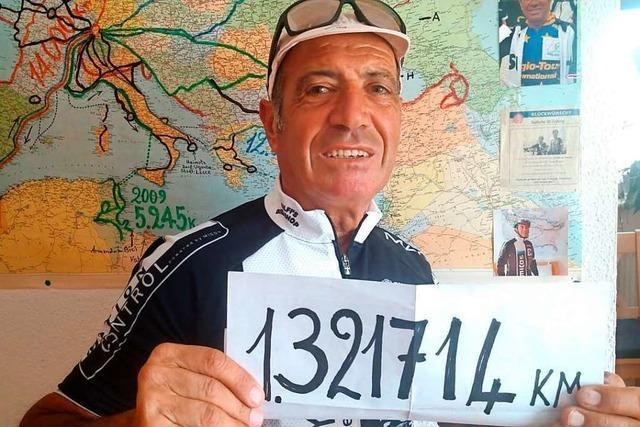 Corona stoppt die Fahrrad-Weltreise eines 73-jährigen Heitersheimers
