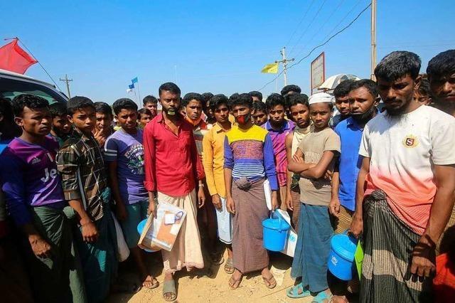 Geflüchtete Rohingya in Bangladesch sind Corona hilflos ausgeliefert
