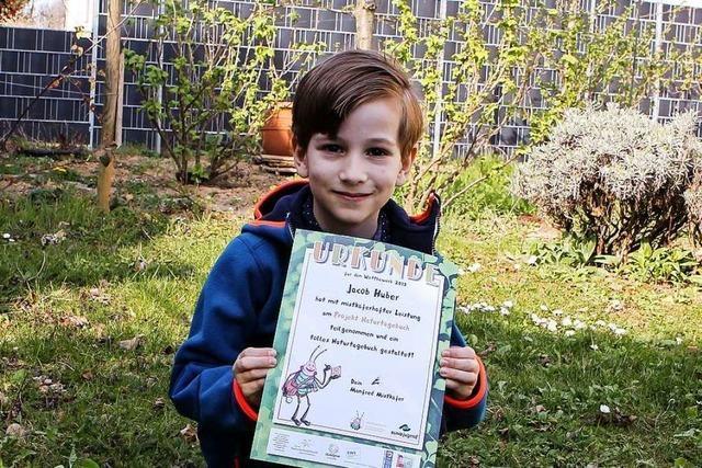 7-Jähriger aus Gottenheim gewinnt beim BUND-Landeswettbewerb