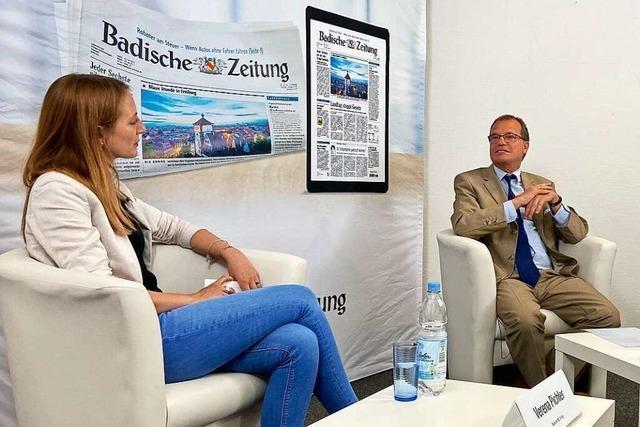 Der BZ-Talk mit Klaus Eberhardt war ein Experiment mit Unterhaltungsfaktor