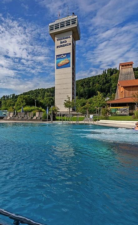 Bis Corona kam, liefen die Geschäfte im Thermalbad Zurzach prächtig.  | Foto: Oliver Wehrli