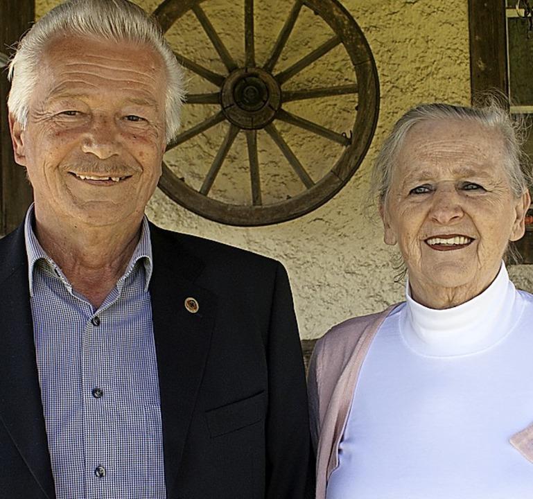 Valentin und Isabelle Keller feiern goldene Hochzeit.  | Foto: Werner Probst
