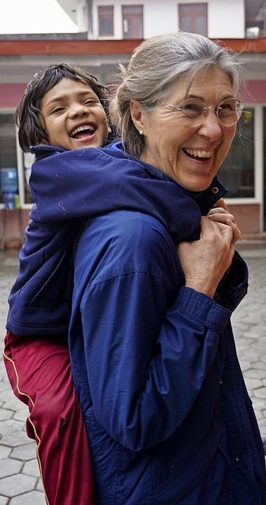 Ingrid Schneider-Winter mit Devi     Foto: zVg