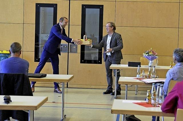 Zachow als Bürgermeister verpflichtet