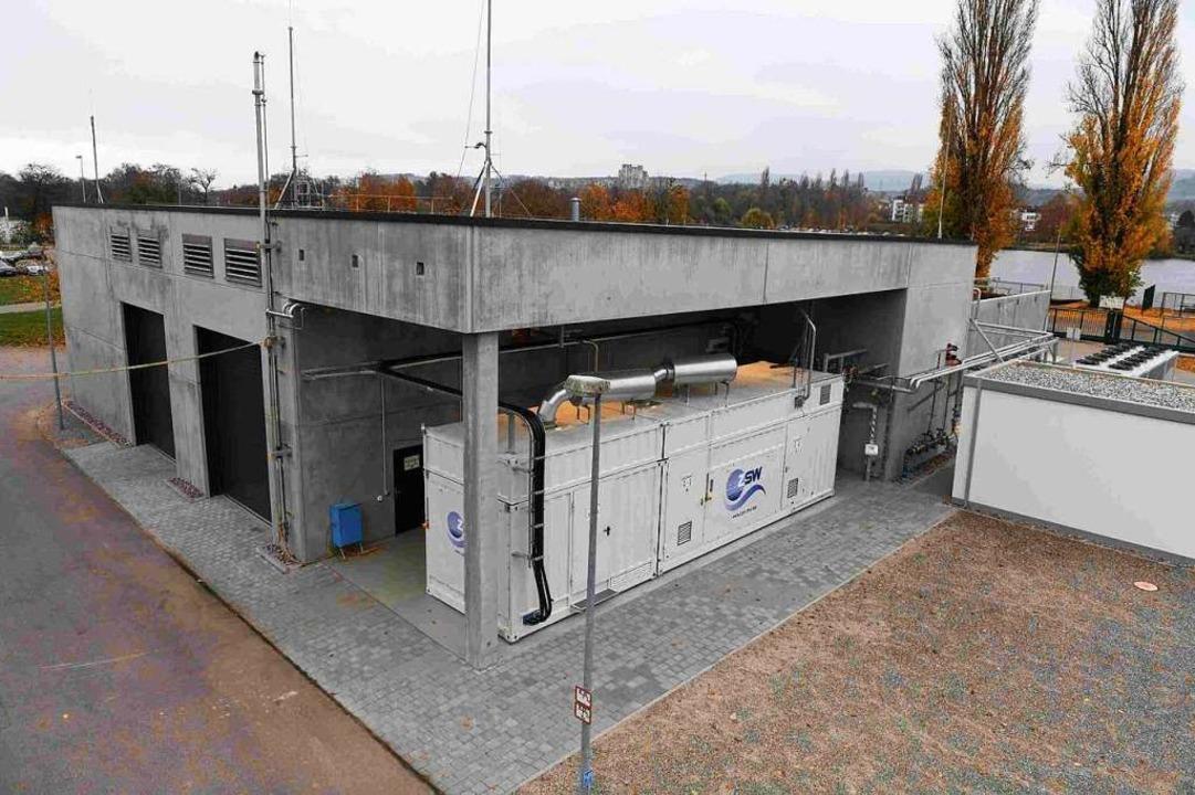 Der Forschungselektrolyseur des ZSW  | Foto: Energiedienst
