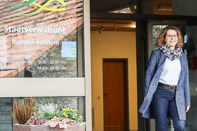 Simone Penner ist jetzt offiziell Bürgermeisterin in Kandern