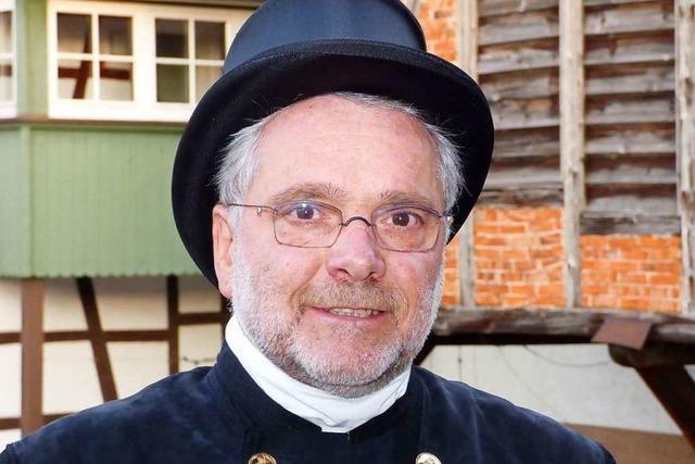 Der Hofweierer Schornsteinfegermeister Franz Klumpp geht in den Ruhestand