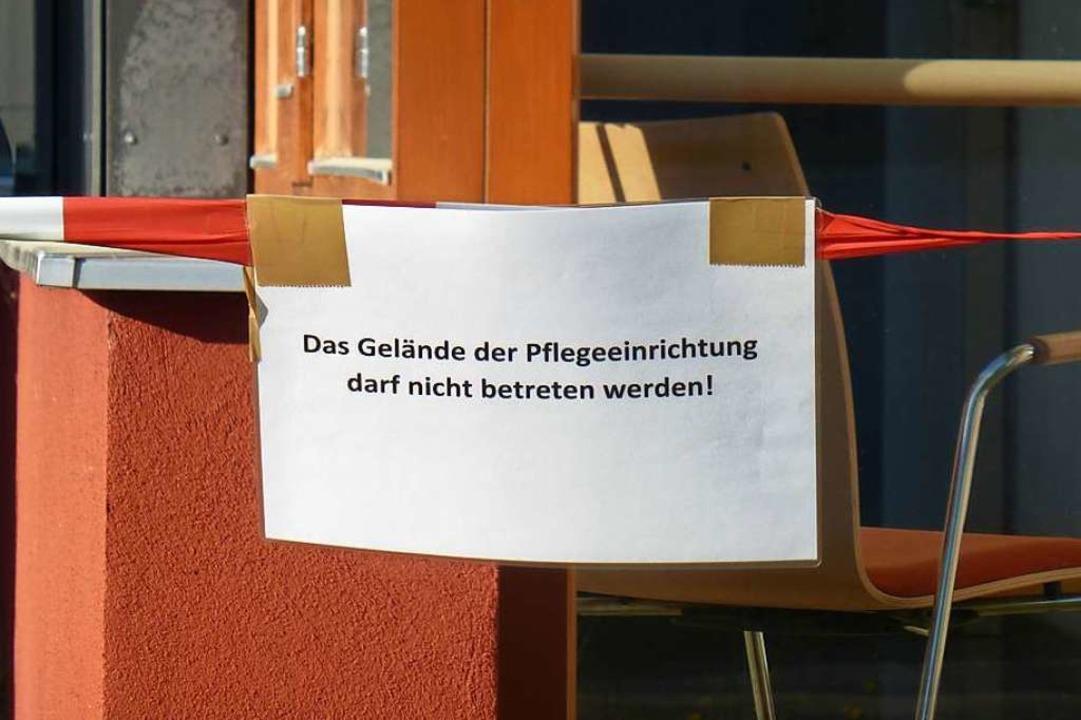 Keine Besucher, keine Therapeuten &#82...erzeit  für Außenstehende geschlossen.    Foto: Andrea Gallien