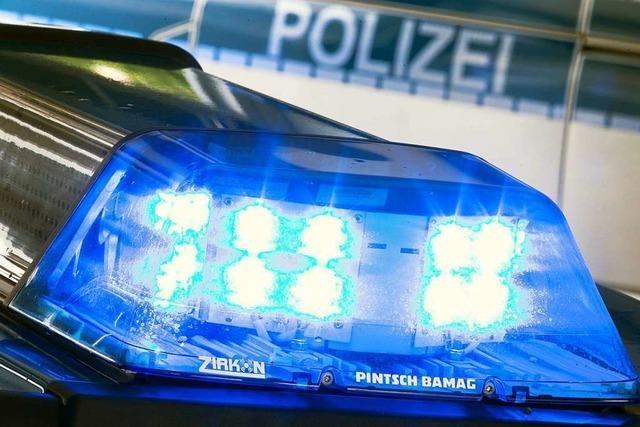 Motorradfahrer stürzt bei Efringen-Kirchen auf Flucht vor der Polizei