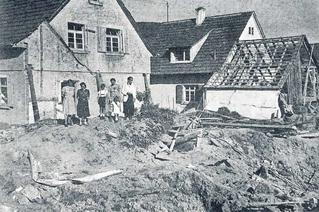 Bei Fliegerbomben fielen am 27. Mai 19...chwunden. Menschen blieben unverletzt.  | Foto: Ekkehard Klem