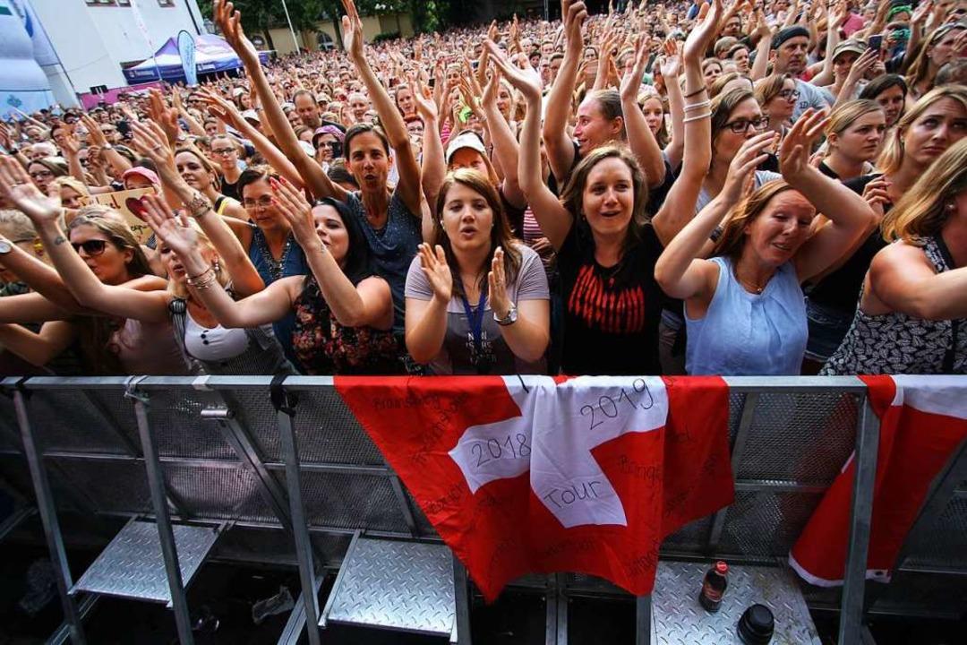 Ein Bild, das es diesen Sommer nicht g...roßveranstaltungen bis 31. August aus.  | Foto: Patrik Müller