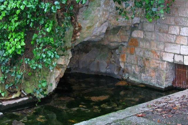 Warum hat die Schlatter Quelle so wenig Wasser?