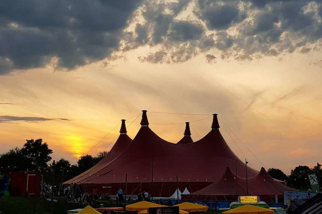 Das Zelt-Musik-Festival ist seit 1983 fester Bestandteil des Freiburger Sommers.  | Foto: Stefanie Pietsch