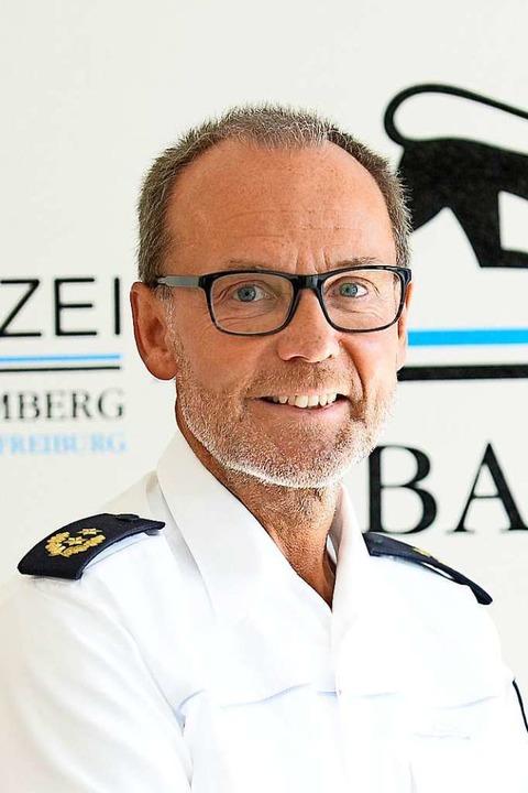 Franz Semling, Leiter des Polizeipräsidiums Freiburg.  | Foto: Ingo Schneider