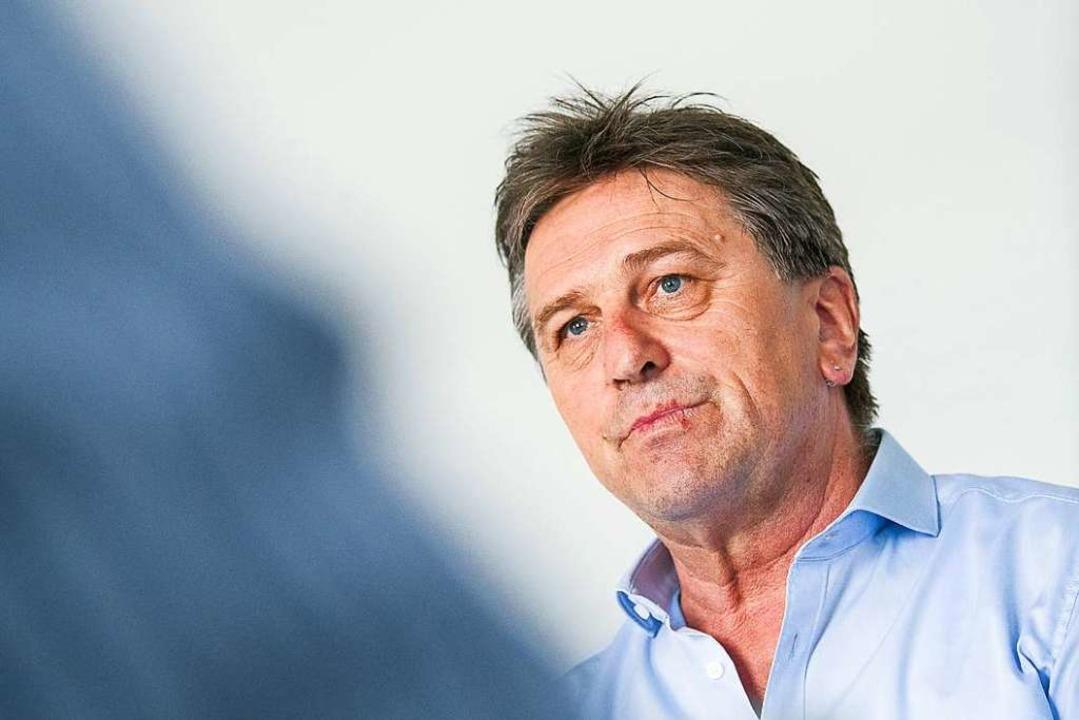 Kumpaneivorwürfe wies Lucha wiederholt zurück  | Foto: Sebastian Gollnow (dpa)