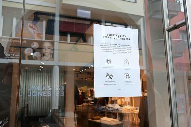 Lörracher Einzelhandel ist erleichtert – Umsatzerwartungen sind aber gedämpft