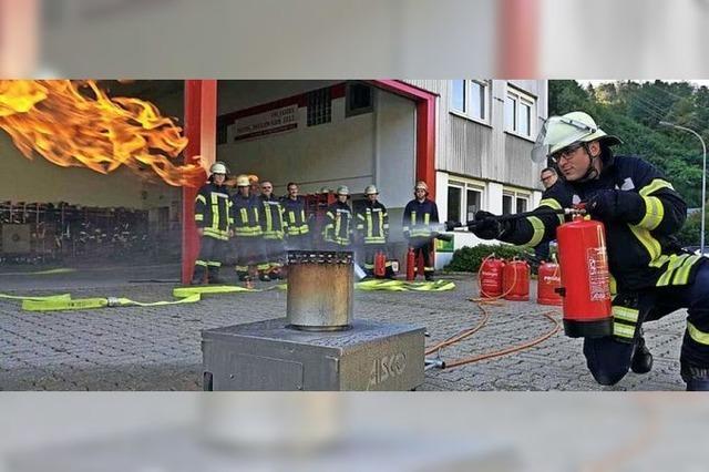 Bei der Feuerwehr probt nun jeder für sich den Ernstfall
