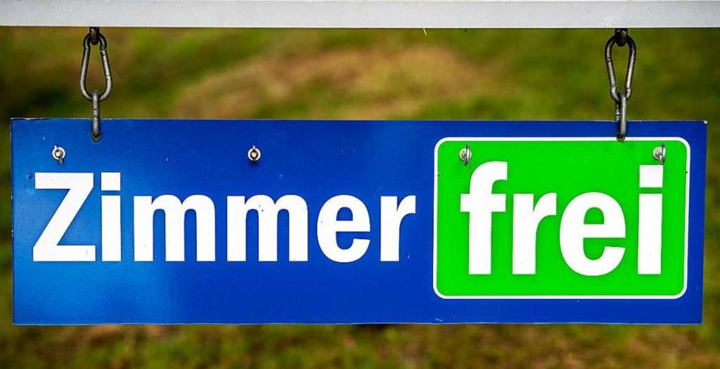 Was nützt  ein freies Zimmer? Der Tour...m Hochschwarzwald leidet unter Corona     Foto: Patrick Pleul (dpa)