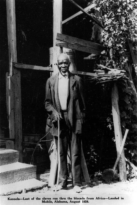 Im August 1860 war er in den USA angek...n: Oluale Kossola, genannt Cudjo Lewis  | Foto: McGill Studio Collection/The Doy Leale...pt Library/University of South Alabama