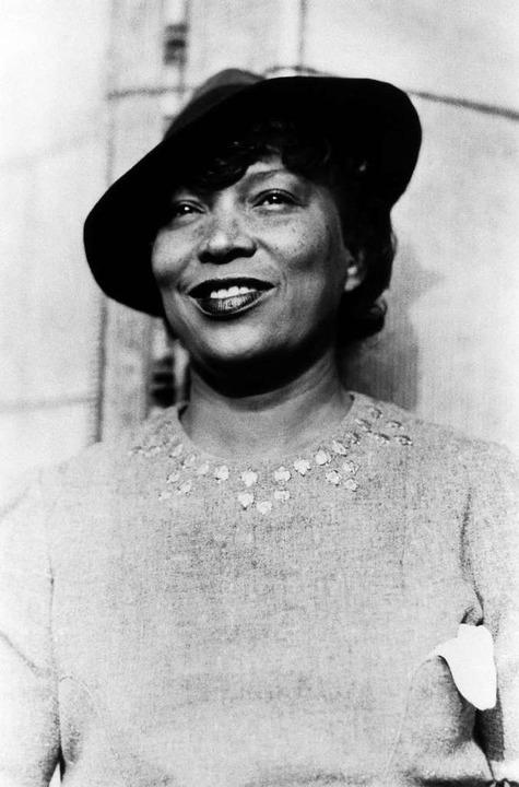 Anthropologin, Autorin: Zora Neale Hurston (1891–1960)  | Foto: Science History Images/Alamy Stock Photo