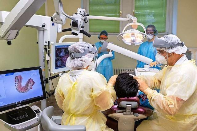 Für Covid-19-Patienten mit Zahnweh gibt es in Lörrach nun eine Schwerpunktpraxis
