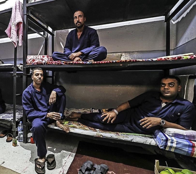 Sieht ordentlich aus – so versuc...zenieren. Häftlinge berichten anderes.    Foto: MOHAMED EL-SHAHED