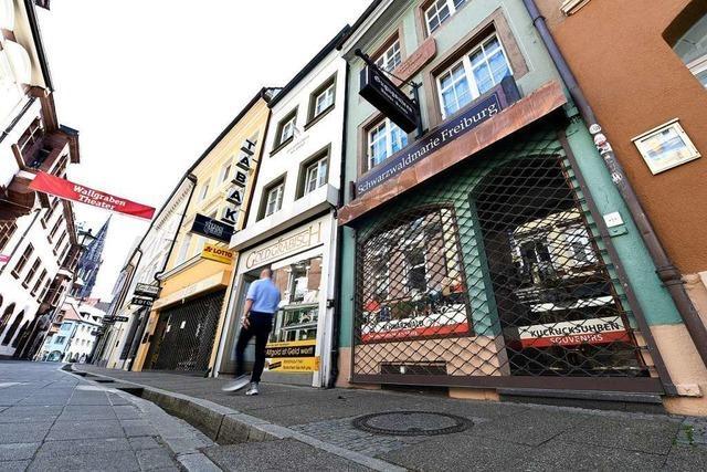 So rüstet sich Freiburgs Einzelhandel für den Neustart