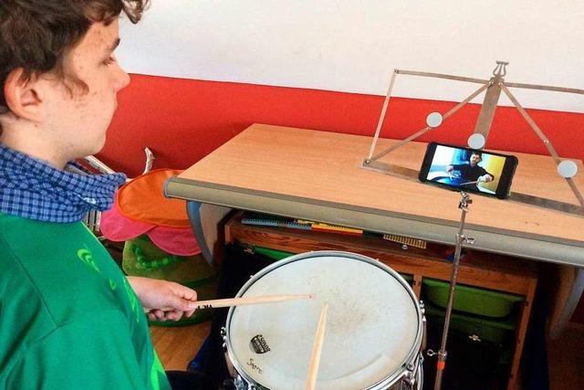 Der Musikverein Eschbach probt in der Corona-Krise mit Videos