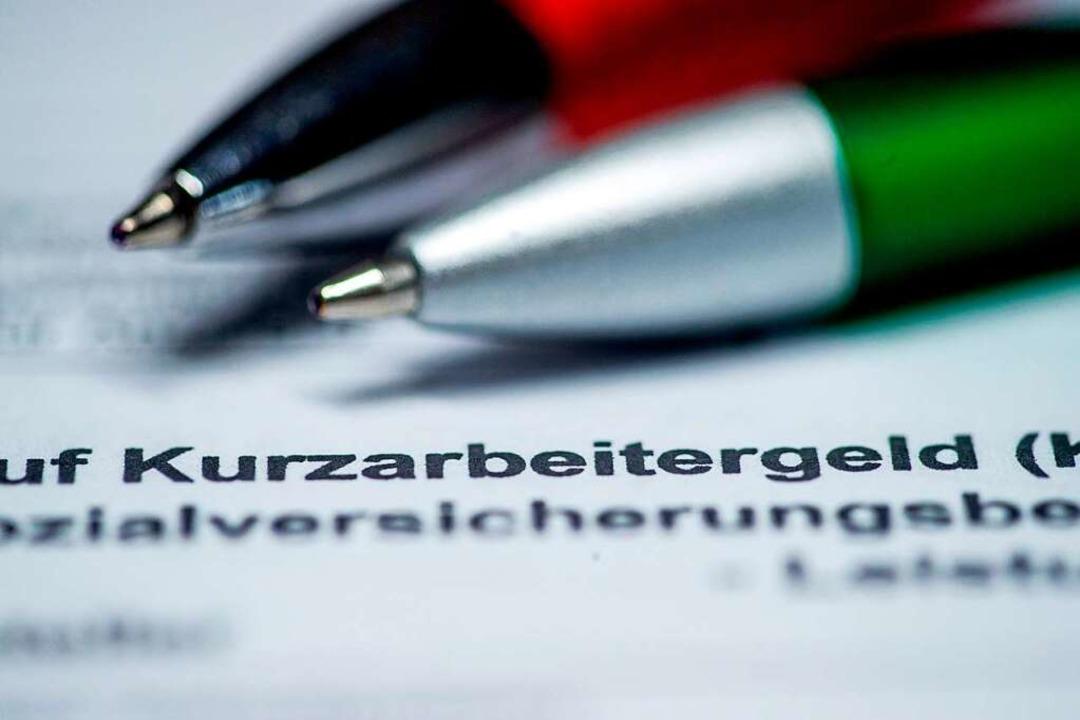Auch Azubis in Kurzarbeit können Kurza...ings sind die Hürden hier etwas höher.  | Foto: Jens Büttner (dpa)