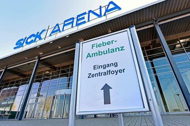 An der Fieber-Ambulanz in Freiburg bleibt großer Andrang bislang aus
