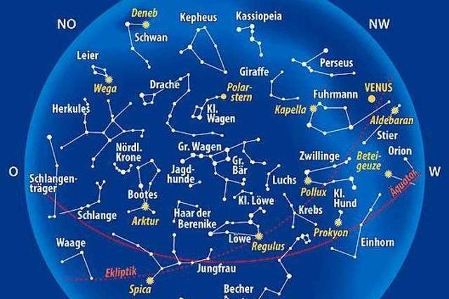 Das ist der Sternenhimmel im April 2020