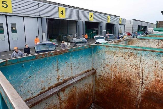 Recyclinghöfe in Freiburg öffnen kommende Woche unter Auflagen