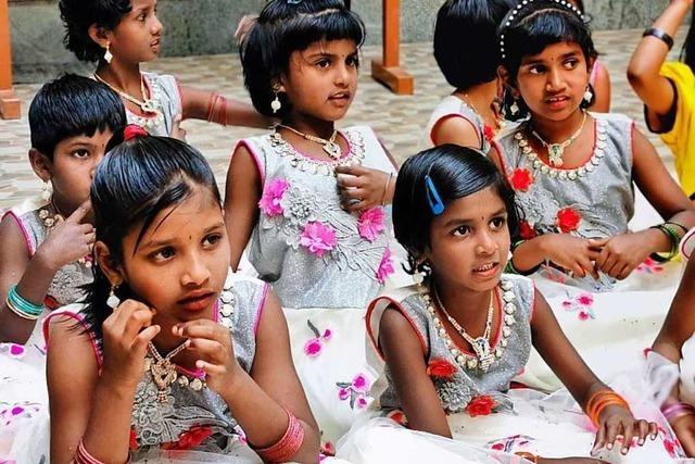 Hunger ist die größte Bedrohung: Lucy-Hilfswerk fördert Mädchen in Indien