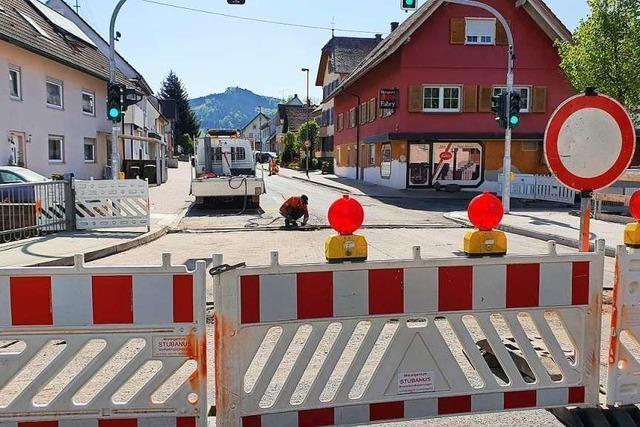 Die Sperrung der Ortsdurchfahrt sorgt für einigen Ärger – und Freude bei Anwohnern