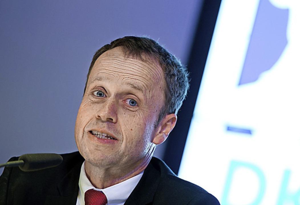 HBL-Geschäftsführer Frank Bohmann  | Foto: Daniel Reinhardt (dpa)