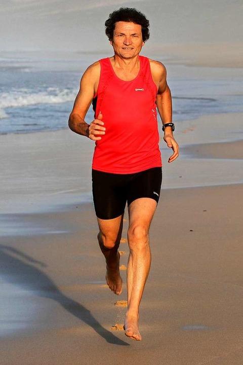 Läufer Herbert Steffny hat sich stets ...ratur und Luftfeuchtigkeit zu messen.   | Foto: Herbert Steffny www.steffny.com