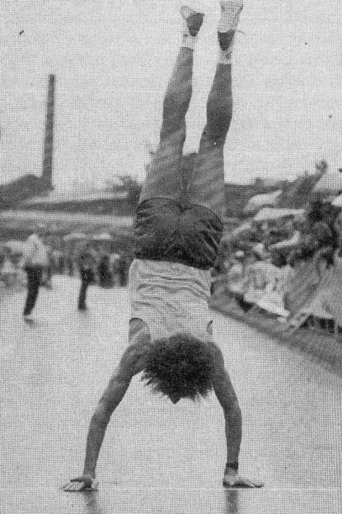 Bei der 25-Kilometer-Meisterschaft 198...ieren – dazu kam es aber nicht.   | Foto: koppe