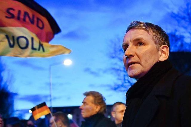 AfD-Spitze verschont Höcke: Flügel-Frontmann darf Ämter behalten