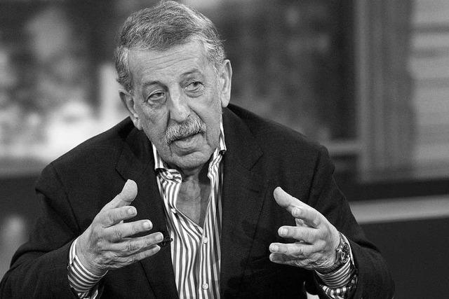 Fernsehjournalist Ulrich Kienzle stirbt mit 83 Jahren