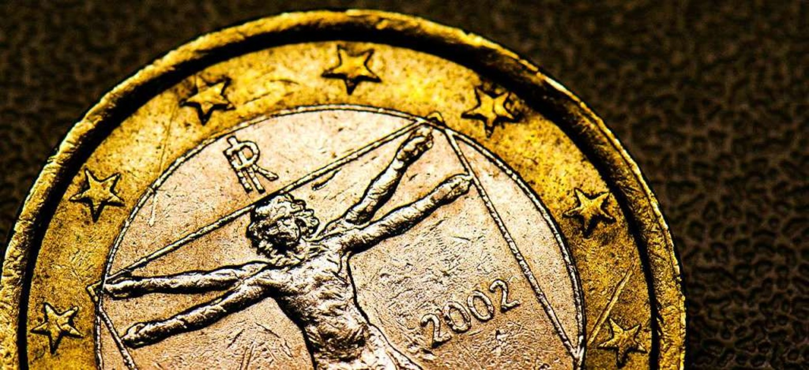 Eine italienische Euromünze  | Foto: Arno Burgi