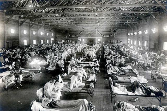Als die Spanische Grippe den Hochrhein erreichte