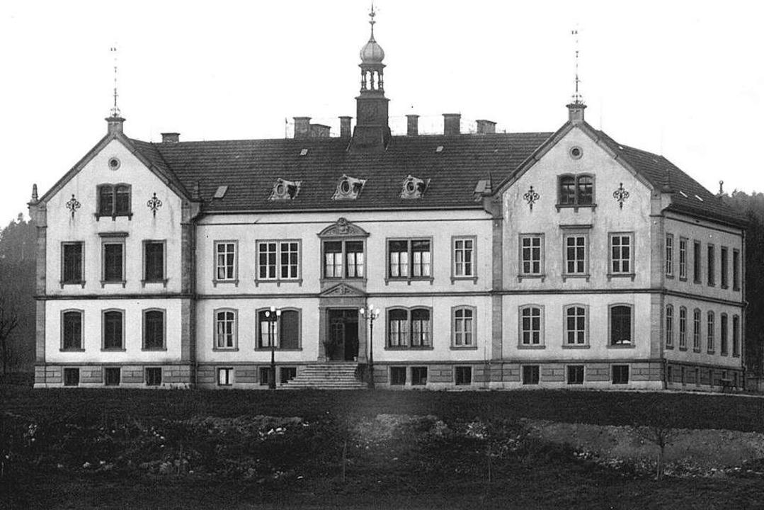 Im Säckinger Krankenhaus wurden im Jah... der Spanischen Grippe erkrankt waren.  | Foto: Stadtarchiv