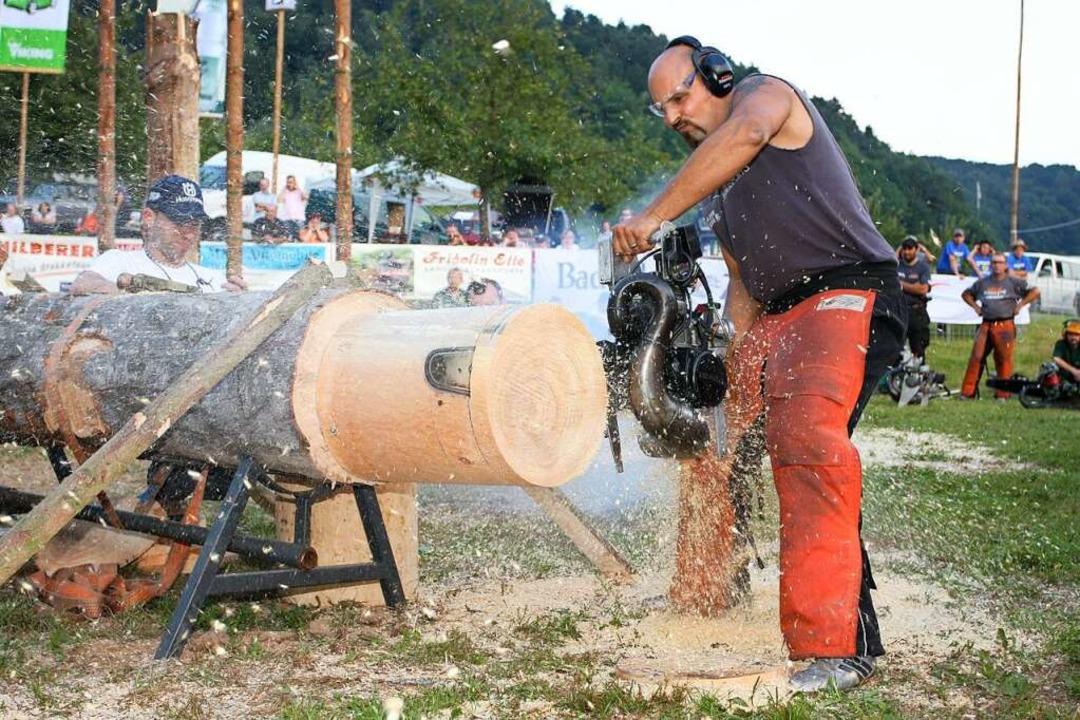 Die Holzfällermeisterschaft findet jed..., da der Eurojack 2020 abgesagt wurde.  | Foto: Verein