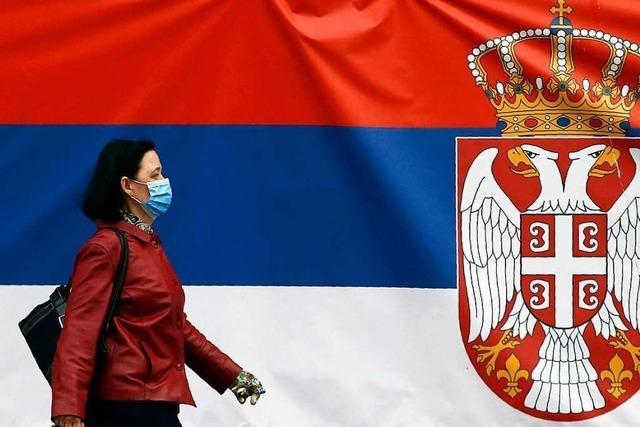 Serbien wirft sich China an die Brust