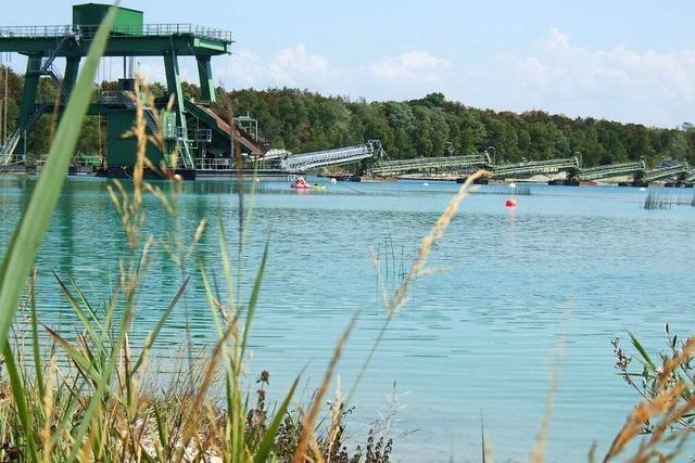 Hartheim sperrt den Friessee bis zum 15. Juni