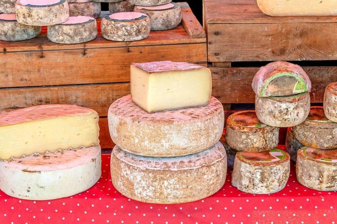 ...ein paar Laib Käse.  | Foto: PRILL Mediendesign & Fotografie